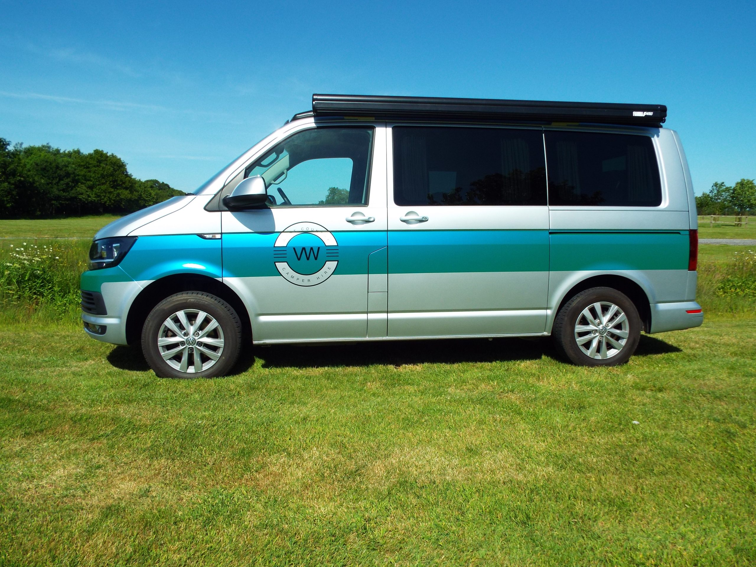 West Country VW Camper Hire Silver (Fred)